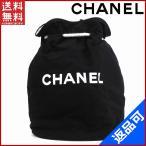 シャネル バッグ レディース (メンズ可) CHANEL ショルダーバッグ 巾着ショルダー ノベルティ プールバッグ 中古 X15085