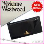 [セール] ヴィヴィアン・ウエストウッド 財布 Vivienne Westwood 長財布 ロゴ 中古 X1583
