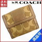 ショッピングコーチ 財布 コーチ COACH 財布 二つ折り財布 Wホック財布 シグネチャー 中古 X4824