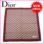 [セール] クリスチャン・ディオール Christian Dior スカーフ トロッター 大判サイズ 中古 X6792