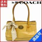 [半額セール!] コーチ バッグ 11553 COACH トートバッグ リボン付き 中古 X7090