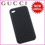 グッチ GUCCI iPhone4ケース マイクロGG アイフォン4ケース 中古 X7294