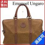エマニュエル・ウンガロ バッグ Emanuel Ungaro ボストンバッグ ミニボストンバッグ 中古 X8243