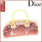 クリスチャン・ディオール バッグ レディース Christian Dior ボストンバッグ ミニボストンバッグ トロッター 中古 X8525