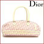 クリスチャン・ディオール バッグ レディース Christian Dior ボストンバッグ ミニボストンバッグ トロッター 中古 X8582