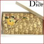 クリスチャン・ディオール 財布 Christian Dior 長財布 トロッター 中古 X9112