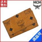 エムシーエム MCM キーケース 4連キーケース 中古 X9600