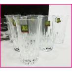 HOYA・ホヤクリスタル クリスタルガラス製 タンブラーグラス6客セット スモールビアグラス 未使用品 20401