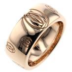カルティエ リング 指輪 ハッピーバースデー LM 約8mm K18ピンクゴールド 9号 レディース CARTIER 中古 K90923586