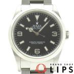 ロレックス エクスプローラー1 メンズ時計 114270(K) SS 黒文字盤 K番 2001年製 美品