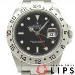 ロレックス エクスプローラー2ルーレット メンズ時計 16570(M) SS 黒文字盤 M番 2007〜2008年製【中古】