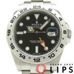 ロレックス エクスプローラー2新型モデル メンズ時計 216570(G) SS 黒文字盤 G番 2010年製 美品【中古】