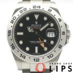 ロレックス エクスプローラー2メーカー保証期間中 メンズ時計 216570(ランダム) SS 黒文字盤 ランダム番 2010年以降の生産【中古】