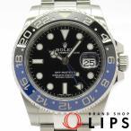ロレックス GMTマスター2 メンズ時計 116710BLNR ランダム SS 黒文字盤 仕上げ済 2010年以降の生産 美品
