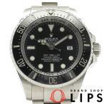 ロレックス シードゥエラー ディープシー メンズ時計 116660(V) SS 黒文字盤 V番 2009〜2010年製【中古】