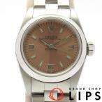 ロレックス オイスターパーペチュアルレディース時計 76080(A) SS ピンク文字盤 1998〜1999年製 美品【中古】