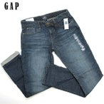ショッピングGAP GAP ギャップキッズ ジーンズ スキニーボーイフレンドフィット 155 【新品同様・未使用品】