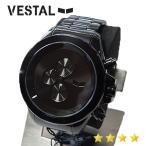 VESTAL ベスタル メンズウォッチ 腕時計 クロノグラフ ZR3008 ブラック [メンズ腕時計] 【中古】