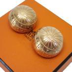 エルメス HERMES イヤリング ゾディアックイヤリング 金属素材 マットゴールド 定番人気