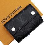 ルイヴィトン Louis Vuitton 三つ折り財布 モノグラム・エクリプス ディスカバリー・コンパクト ウォレット キャンバス モノグラムエクリプス 定番人気