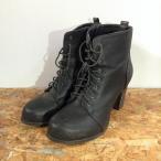 ローリーズファーム ブーツ 102501 黒 / ブラック LOWRYS FARM 無地