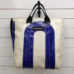 フライターグ 2wayバッグ 19A4146 白 / ホワイト × 青 / ブルー FREITAG