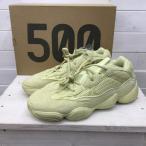 アディダス スニーカー 靴 DB2966 YEEZY500 30?【S1807】 0082100874347 黄色 / イエロー adidas 無地
