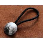 フランス 1フランコインコンチョ 23mm ヘアゴムブレスレット(種撒く人):ループ 古銭 小銭 硬貨 バングル アンクレット