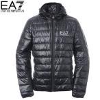 ショッピングアルマーニ エンポリオアルマーニ EA7 EMPORIO ARMANI ダウンジャケット メンズ アウター ブルゾン 8NPB02 PN29Z ブラック 2017秋冬セール
