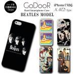 iPhone X 8 7 6s 6 plus SE 5s galaxy xperia ハード スマホ ケース カバー ブランド グッズ ビートルズ BEATLES 音楽 ジョンレノン CD ジャケット ロック