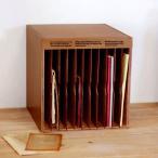 書類ケース レターケース A4 木製 書類整理 棚 縦型 収納 アンティーク BREA