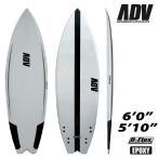 サーフボード ショート アドバンス / ADVANCED WING BADTAIL 5'10  6'0  D-FLEX カーボン サーフィン