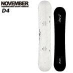 17-18 NOVEMBER/ノベンバー D4 ディーフォー グラトリ メンズ レディース 板 スノーボード 予約商品 2018