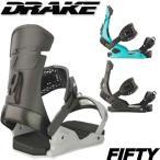 17-18 DRAKE/ドレイク FIFTY フィフティー メンズ ビンディング バインディング スノーボード 予約商品 2018