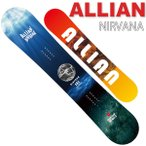 17-18 ALLIAN/アライアン NIRVANA ニルバーナ メンズ 板 スノーボード 予約商品 2018