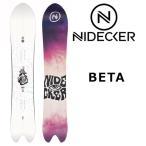 17-18 NIDECKER/ナイデッカー ニデッカー ESCAPE エスケープ メンズ 板 スノーボード 予約商品 2018