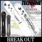 15-16 TECHNINE / テックナイン WOMENS FEATHER オールマウンテン レディース スノーボード 板 2016