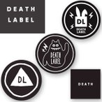 15-16 DEATH LABEL / デスレーベル DEATH MASK1 BUNNY メンズ レディース スノーボード フェイスマスク ネコポス送料無料