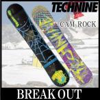 15-16 TECHNINE / テックナイン CAM ROCK オールマウンテン メンズ スノーボード 板 2016
