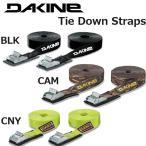 DAKINE Tie Down Straps / ダカイン タイダウンストラップ 12' Black サーフィン、ウインドサーフィン/キャリアベルト
