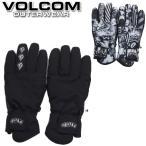 19-20 VOLCOM / ボルコム Vcm Glove 5本指グローブ 手袋 メンズ レディース スノーボード スキー メール便対応