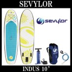 セビラー Sevylor インフレータブル SUP コールマン インダス 10' スタンドアップ パドルボード