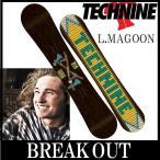 15-16 TECHNINE / テックナイン LM PRO MAGOON オールマウンテン メンズ スノーボード 板 2016