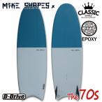 サーフボード マイクシェイプス / MIKE SHAPES MS  The70s セブンティーズ ムーンテール 5'8 5'11 クラシック ツインフィン