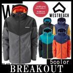 16-17 WESTBEACH / ウエストビーチ FIDELITY jacket ウエア ジャケット メンズ   スノーボードウェア 2017 型落ち