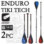 2017 STAR BOARD / スターボード パドル ENDURO TIKITECH SKINNY 2ピース / エンデューロ ティキテック 長さ調節可能 アジャスタブル パドルボード SUP サップ