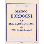 輸入楽譜/チューバ/ボルドーニ:チューバのための43のベルカント練習曲