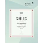 輸入楽譜/ピアノ/シベリウス:6つの即興曲 Op.5