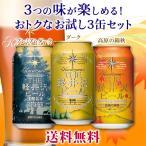 【送料無料】ビール 地ビール クラフトビール セット 詰め合わせ 飲み比べ 3缶セット THE軽井沢ビール プレミアムダーク、ダーク、高原の錦秋(赤ビール)