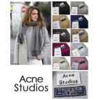 旧タグ アクネストゥディオズ Acne Studios アクネ レディース 大判 スカーフ マフラー 正規ショップ袋付 並行輸入品 送料無料